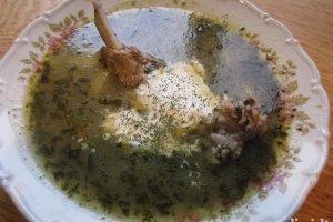 Ritos rūgštynių sriuba