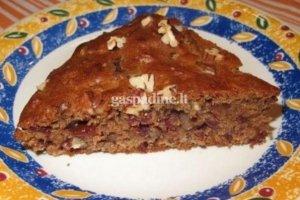 Pekano riešutų pyragas